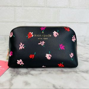 Kate Spade Ditsy Buds Cosmetic Case Pouch
